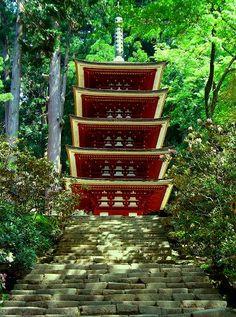 室生寺:国宝五重塔