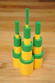 Modèles avec les cylindres Montessori