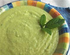 Chilled Avocado Soup (#vegan, #dairyfree) @rickiheller