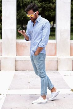 Men's Fashion | Menswear | Men's Casual Outfit for Spring/Summer | Moda Masculina | Shop at DesignerClothingFans.com