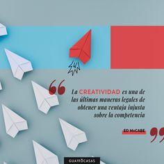 Para ganar ante la competencia y que nos elija los consumidores, solo hay una opción: CREATIVIDAD 🚀 Inspirational Quotes, Creative, Creativity, Elegant, Life Coach Quotes, Quotes Inspirational, Inspiring Quotes, Inspirational Quotes About, Inspire Quotes