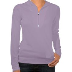 Women's Alo 1/2 Zip Hoodie (Lavender) with hidden key pocket, this pullover is perfect for yoga classes, running, or just a casual Saturday brunch.