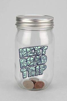 Road Trip Jar Bank!!! @Ericka Sura This is for our trips!! :) :) :) <3 Love it!!