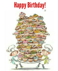 Early Birthday Wishes for Janet. Happy Birthday to You. Happy Birthday Pictures, Happy 2nd Birthday, Happy Birthday Messages, Happy Birthday Quotes, Happy Birthday Greetings, It's Your Birthday, Cupcake Illustration, Cute Illustration, Happy B Day