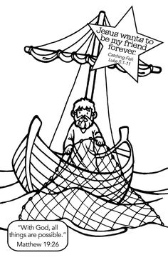 Net Full Of Fish Coloring Page Net Full Of Fish Coloring Page. Net Full Of Fish Coloring Page. Fishing Net Drawing at Getdrawings in fish coloring page 30 Fish Net Clipart Free Clip Art stock illustrations Clip Bible Story Crafts, Bible School Crafts, Bible Crafts For Kids, Sunday School Crafts, Bible Stories, Jesus Coloring Pages, Fish Coloring Page, Kids Coloring, Colouring