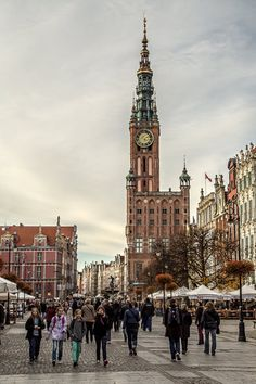 Old City Hall in Gdansk, Poland by attomanen