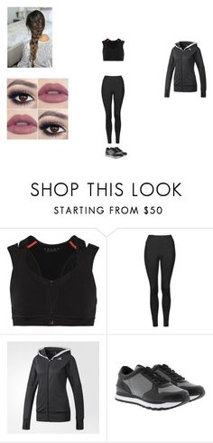 """Avenger Clint #3"" by victoriahoegh ❤ liked on Polyvore featuring Falke, Topshop, adidas and DKNY"