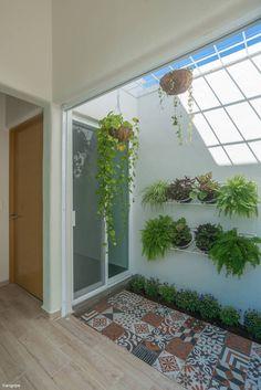 Small Backyard Gardens, Backyard Garden Design, Indoor Garden, Home Building Design, Home Room Design, Minimalist Garden, Minimalist Room, Interior Garden, Interior And Exterior
