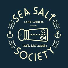 illustration by Tim Lathan.  I love sea salt.