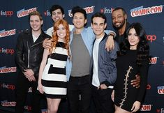 Shadowhunters cast in New York Comic-Con 2015 - Day 3