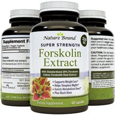 Natural Coleus Forskolin Extract 250mg Supplement for Weight Loss Antioxidant Maximum Strength - Fat Burner Healthy Weight…
