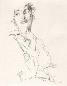 Wilhelm M. Busch - Figurenstudie
