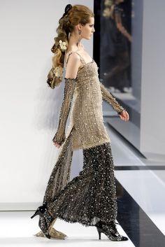 Chanel Fall 2009 Couture Fashion Show - Tereza Cervenova