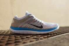 """b723e77a0ebb Nike Womens Free Flyknit """"Multi-Color""""  We recently featured the new Free  Flyknit"""
