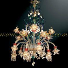 Diantha - Murano glass chandelier