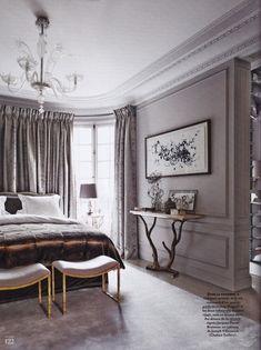 Chahan Minassian-Bedroom-Paris-Le Bon Mix-French AD Feb-March 2014-Gonzalo Machado