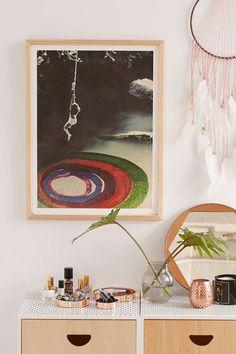 Alexandra Valenti Rope Swings Art Print