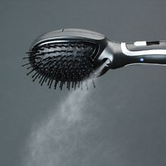 A steam powered hair brush? Oh, heck ya!!