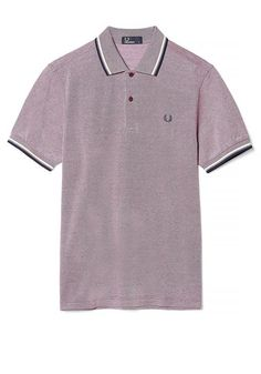 Fred Perry Mens Slim Fit Twin Tipped Polo, Port Oxford | McElhinneys Department Store