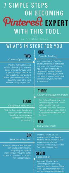 Anna Zubarev | 7 Simple Steps on Becoming A Pinterest Expert With This Tool. | http://annazubarev.com