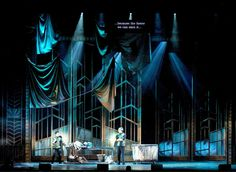 Thoroughly Modern Millie. Prism Theatrics. Scenic design by Paul Tate dePoo III. Lighting by Zach Blane. 2014