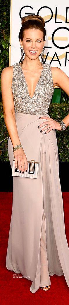 Kate Beckinsale in Elie Saab Couture - Golden Globes 2015