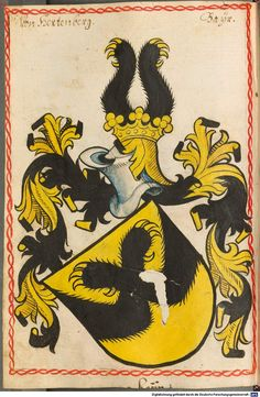 Scheibler'sches Wappenbuch Süddeutschland, um 1450 - 17. Jh. Cod.icon. 312 c  Folio 276