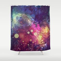 The+Universe+Behind+Shower+Curtain+by+Adaralbion+-+$68.00
