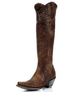 Women's Diana Boot - Brass