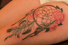 Dream Catcher for my friend at the Illustrator Tattoo.