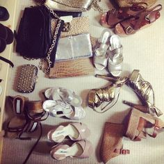 Hamptons packing madness...neutral accessories are a must ;)