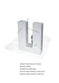 Galeria de Primeiro lugar no concurso das Torres duplas para o Campus de Alta Tecnologia e Pesquisa / KSP Jürgen Engel Architekten - 6