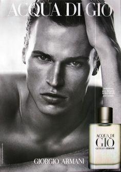 Parfum Acqua di Gio pour Homme par Giorgio Armani - Photo Peter Lindbergh