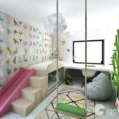 What a fantastic kids room