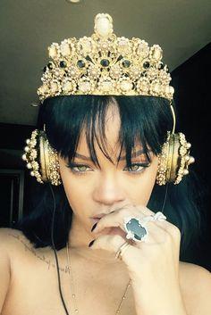 Rihanna wearing  Dolce