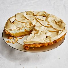 Milk and Honey Pie Recipe | Bon Appétit Creamed Honey, Creamed Eggs, Honey Pie, Milk And Honey, Egg Whisk, Thing 1, Dried Beans, Pie Recipes, Sweets Recipes