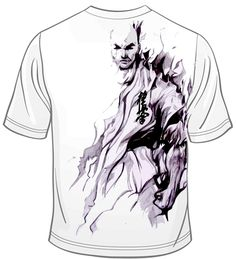 Kyokushin Karate T-shirt plan by kvik84.deviantart.com on @DeviantArt