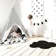 Tipi tent 'Arizona' - NOBODINOZ https://www.livingdesign.be/nl/merken/nobodinoz