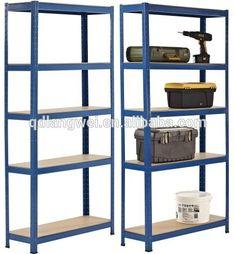 Heavy Duty Garage Warehouse RackingShelving Storage Unit Metal Shelves 875kg