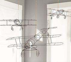 plane's for children's rooms #nursery