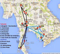 Lowcosteros: Preparación del viaje a Tailandia y Camboya