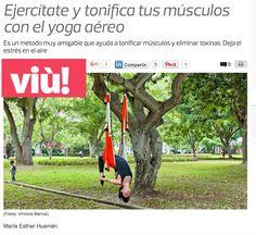 Yoga y Pilates Aéreo by Rafael Martinez en Prensa y TV, AeroYoga® AeroPilates® en los Medios Internacionales,  #madrid #aeroyogamadrid #aerialyoga #yogaaereo #yogaaereoespaña #yogaaereomadrid #yogaaereobarcelona #yogaswing #wellness #estilo #belleza #tendencias #moda #television #prensa #RafaelMartinez #aeropilatesmadrid #bienestar #salud #ejercicio #exercice #yoga #pilates #donosti #leon #almeria #oviedo #gijon #bilbao #aeropilatesbrasil #aeropilatescursos #aeropilates #pilatesaereo