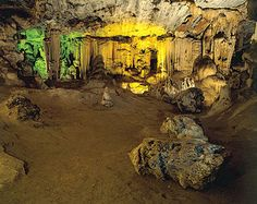 Cango Caves situated close to Oudtshoorn, offers fascinating limestone formations in a wide variety of colours Caves, South Africa, Followers, Boards, Photos, Painting, Planks, Painting Art, Cave