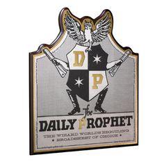 Harry Potter Wandschmuck Daily Prophet 36 x 30 cm  Harry Potter - Wandschmuck - Hadesflamme - Merchandise - Onlineshop für alles was das (Fan) Herz begehrt!