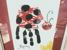 handprint ladybug