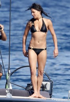 Pin for Later: This Week's Can't-Miss Celebrity Pics!  Michelle Rodriguez showed off her bikini body on a yacht in Sardinia, Italy on Friday.