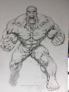 Hulk - Mark Texeira Comic Art