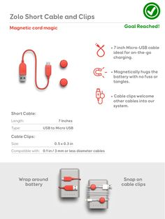 Zolo: A Magnetic Case, Battery & Cable System | Indiegogo