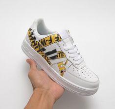 the best attitude eeae7 d4f04 Custom Sneakers, Custom Shoes, Custom Af1, Nike Custom, Nike Force 1,