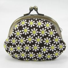 Small Coin Pouch Flower